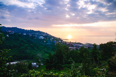 Amazing Sunset Rize, TURKEY (SRAphotography) Tags: nikon nikond5100 nikonphotography nature natural fotokaradeniz fantastic green landscape manzara sky clouds sunset sigma 1850 d5100 turkey türkiye tea teagarden