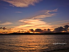 Twilight, Lough Swilly, Co. Donegal. (willieguildea) Tags: sunset sun twilight sky clouds nikon coolpix p900 lough loughswilly river coast coastal buncrana donegal ireland eire ulster water waterscape sea ocean skyline dusk