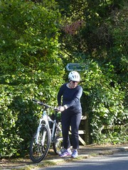 Brian took a shortcut (Brian Cairns) Tags: susrans roslin bonnyrigg lasswade cycling rosslyn newcyclepath danderhall dalkeith brianbcairns irreverence levity serendipity