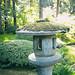 lantern at Nitobe Memorial Garden