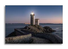 Le Phare du Petit Minou - Bretagne (David Jonck) Tags: 2018 bretagne brittany d850 davidjonck france frankrijk lepharedupetitminou lighthouse nikon phare vuurtoren bluehour longtimeexposure longexposure sea seascape sunset zonsondergang 2470