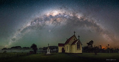 Mamaranui Church (hakannedjat) Tags: milkyway astro astrophotography astroscape sony sonya7rii a7rii zeiss newzealand nz