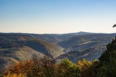 Blick vom Steinerberg zur Hohen Acht (clemensgilles) Tags: hiking wanderlust herbst autumn deutschland eifel germany beautiful
