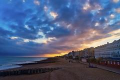 The jagged edges of a broken heart (Jim Nix / Nomadic Pursuits) Tags: england london luminar2018 macphun skylum sony sonya7ii uk unitedkingdom travel eastbourne sunset jimnix nomadicpursuits beach coastal coast