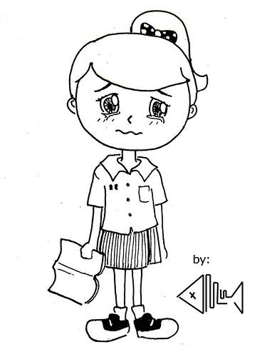 Contoh Gambar Ilustrasi Karikatur Yang Mudah Digambar A Photo On