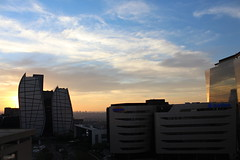 Sandton Sunset (Rckr88) Tags: sandton johannesburg southafrica south africa sunset sandtonsunset sun sunlight sunsets gauteng sky skyline skyscrapers skyscraper tower towers architecture buildings building city cities travel