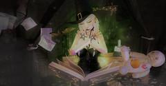I Put A Spell On You... (Ð ȭ я ʞ / ʙᴇᴇᴊᴀʏ) Tags: fmd fantasy fashion flickr family witch halloween october chains cauldrons lance beejay dork dorkisme salem arcy arcback ultra