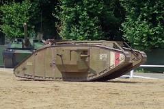 1914-1918 - Mark IV du Tank Museum de Bovington (Breizh56) Tags: france saumur carrouseldesaumur2018 pentax 19141918