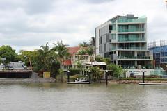 Houses along the Brisbane River (philip.mallis) Tags: brisbane river brisbaneriver bulimba house apartment architecture riverside