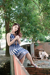 DSC_4952 (錢龍) Tags: 張倫甄 光復新村 外拍 時裝 眷村 nikon d850 cute girl 人像 甜美 長髮