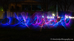 Light Painting (Peter.Stokes) Tags: light fire painting night fun photography lightsabre sabre