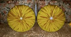 طريقة خياطة وسائد دائرية لصالونات بطريقة سهلة How to sew a circular pillow (ezo-handmade) Tags: اشغال يدوية الطرز و الخياطة خياطة وسائد