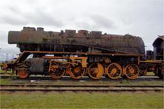 old steam locomotive.......... (atsjebosma) Tags: steamlocomotive stoomlocomotief old oud roest museumrailwaystar atsjebosma stadskanaal thenetherlands october 2018 museum railway rails