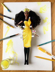 Adele3.0_Yellow1s (doll_enthusiast) Tags: fashion royalty fr integrity toys it adele makeda the faces 30 doll photography drawing collecting dolls