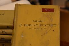 Dudley Boycott's donation to CBMM (Chesapeake Bay Maritime Museum Photos) Tags: dudley boycott sail maker baltimore county chesapeakebaymaritimemuseum cbmm