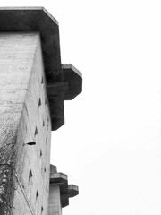 Medienbunker (Rosmarie Voegtli) Tags: hamburg medienbunker blackwhite blackandwhite architecture weltkrieg history geschichte feldstrasse