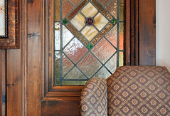 When everything matches.... (tmattioni) Tags: mtholly robinsnest restaurant historic stainedglass window hww great cool