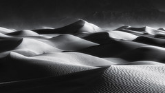 Light and Shadows (Wind Walk) Tags: death valley national park mesquite sand dunes sunrise light shadow wind