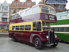 West Bridgford ORR140 (RL Buses) Tags: bus busrally preservedbus nottingham nottinghamcitytransport nct140 oldmarketsquare