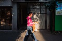 Nameless (Spontaneousnap) Tags: spontaneousnap street shanghai china city like candid documentary people publicareas lifestyle 上海 leicaq takeabreak afternoon asia sunshine shadow cat pet littledoglaughedstories
