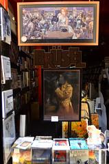 Comic book store (Valantis Antoniades) Tags: comic book store brusel brussels belgium night