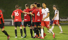 Lewes 2 Kings Langley 1 FAC replay 26 09 2018-410.jpg (jamesboyes) Tags: lewes kingslangley football nonleague soccer fussball calcio voetbal amateur facup tackle pitch canon 70d dslr