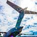 Solar Flare & A Static C-17 Globemaster III