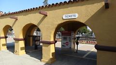 BurlingameStation22SEP18 23 (By Air, Land and Sea) Tags: train rail railway railroad station depot suburban commuter california caltrain burlingame sanfrancisco pcs peninsulacommuteservice