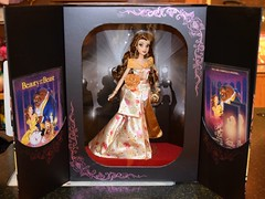 2018 Disney Designer Collection Premiere Series - Merchandise In Store Release - 2018-09-28 - Belle Doll - Opened Box - Full Front View (drj1828) Tags: disneystore disneydesignercollection premiereseries promo storedisplay 2018 merchandise colourpop doll limitededition belle 12inch beautyandthebeast