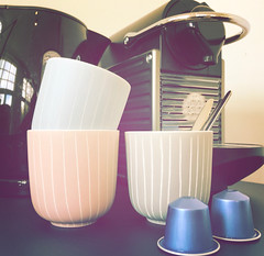 coffee anyone? (=Mirjam=) Tags: iphone hipstamatic coffee cups nespresso 52weeksof2018 props oktober 2018