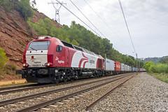 335-027 (Escursso) Tags: 335 335027 adif barcelona canon castellbisbal emd euro4000 logitren privada trainspotting vossloh contenedores railtrain railway spain spotting tren