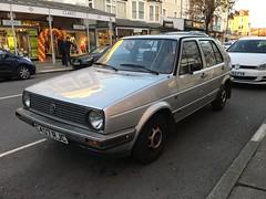 VW Golf Mk2 1.3 CL (VAGDave) Tags: vw golf mk2 13 cl 1985 volkswagen
