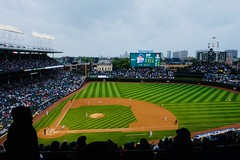 Late September at Wrigley [Explored] (dangaken) Tags: chicago windycity cityofbroadshoulders chi september fujixt2 fujifilm fuji xt2 september2018 2018 fall autumn chicagoland mlb majorleaguebaseball anthonyrizzo rizzo bryzzo cubs chicagocubs st louis cardinalswrigley fieldwrigleywrigleyvilleplayoffspostseasonbaseballstadiumballparkbaseball stadiumgo gograssgreenmajor league explore explored inexplored