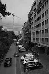 in the streets of Freiburg (mgheiss) Tags: freiburgimbreisgau strasen streets schwarzweis monochrom bw canon eos100d dslr canonefs1018mm