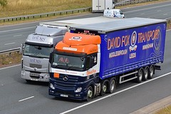 SJ64 SSV (Martin's Online Photography) Tags: mercedes actros mp4 truck wagon lorry vehicle freight haulage commercial transport a1m northyorkshire nikon nikond7200