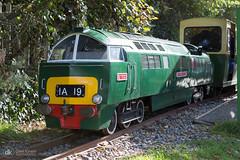07/10/18 (Dave.Kirwin) Tags: royalvictoriacountrypark narrowgauge western class52 diesel railway train