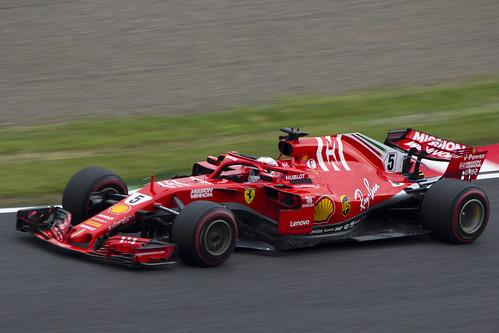 Ferrari SF71H / Sebastian Vettel