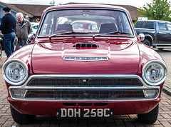 Classic Car Show. (CWhatPhotos) Tags: cwhatphotos digital camera pictures picture image images photo photos foto fotos that have which contain olympus penf lens classic car show vintage old motor vehicles houghton feast october 2018 north east england county durham uk cars red ford cortina fordcortina