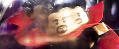 The real world isn't affected by what happens here (tomtommilton) Tags: lego toy toyphotography macro filter practicaleffects kaleidoscope refraction marvel superhero drstrange avengers mirror dimension cinematic movie