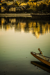 Sunset Time (Photo Alan) Tags: vancouver night sunset reflection water boat tree city cityscape cityofvancouver
