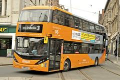 YN18SXO Nottingham city Transport 453 (martin 65) Tags: enviro e400 enviro400 city mmc nottinghamshire nottingham biogas scania road transport public ciy vehicle bus buses