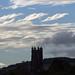 Storm Callum approaches - Culm River, Cullompton, Devon - Oct 2018