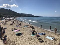 Cefalu Beach (ronindunedin) Tags: italy sicily mediterranean island mafia europe cefalu beach