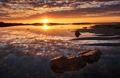 La Mare Beach - 15th October 2018 (Tim_Horsfall) Tags: sunset beach sea ocean seascape fujifilm xt3 1655 sky clouds jersey landscape beautiful serene colours golden reflection