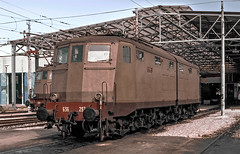 FS E636 297 (maurizio messa) Tags: toscana e636 yashicafxd mau bahn ferrovia treni trains railway railroad ansaldo