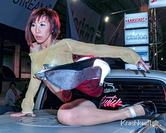Bangkok International Motor Show 2011 (krashkraft) Tags: 2011 allrightsreserved bangkok beautiful beauty coyoty dancer krashkraft motorshow pretty thailand