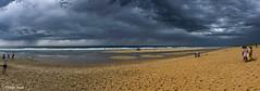 Orage sur la mer (didier95) Tags: orage mer plage scenedevie gironde lege capferet paysage ciel nuage sable
