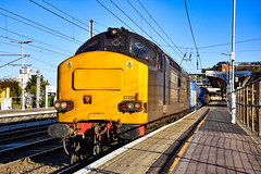 37259 + 37602 - Ipswich - 04/10/18. (TRphotography04) Tags: direct rail services drs 37259 37602 pause ipswich working 3s60 0901 stowmarket dgl rhtt circular via shenfield southend victoria clactononsea