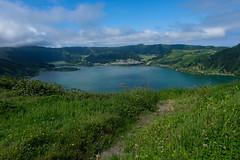 Caldeira das Sete Cidades (Nelleke C) Tags: 2018 azoren caldeiradassetecidades sãomiguel holiday lake landscape landschap meer portugal vakantie volcanocrater vulcano vulkaankrater