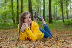 IMG_9441 (fab spotter) Tags: younggirl portrait forest levitation brenizer extérieur lumièrenaturelle